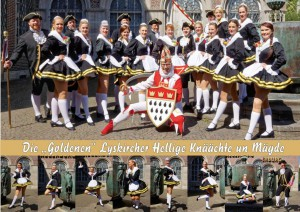 Tanzgruppe Lyskircher Hellige Knäächte un Mägde